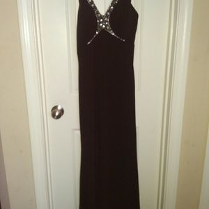 Betsy & Adam black gown
